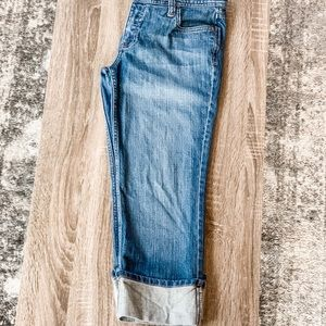 [ M o s s i m o ] Low Rise Crop Jeans